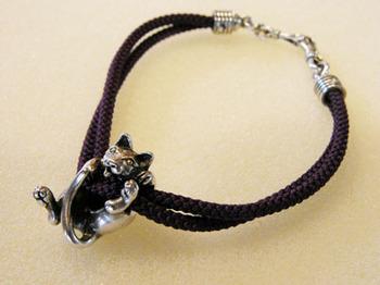 037-1 猫ブレスレット