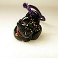 124-2黒猫ペンダント