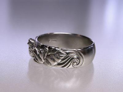 109-3 蛙の結婚指輪