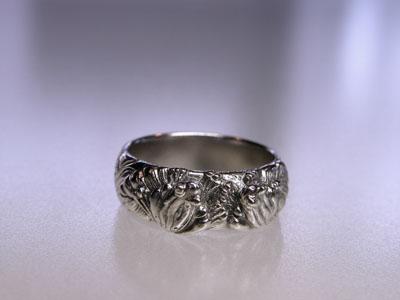 109-4 蛙の結婚指輪