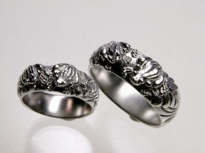 109-5 蛙の結婚指輪